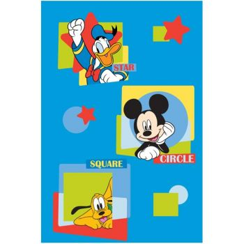 Covor copii Mickey Mouse and Friends model 28 140x200 cm Disney