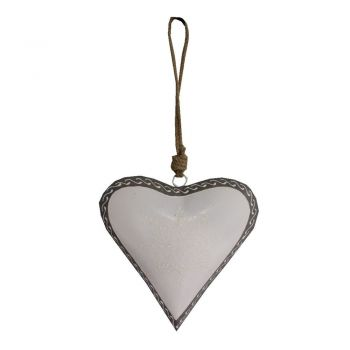 Inimă decorativă Antic Line Light Heart, 20 cm
