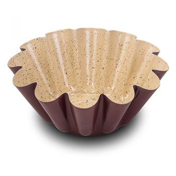 Tava cuptor invelis ceramic Flower Eco Friendly, Ø22,5xH8 cm