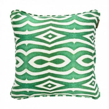 Perna decorativa Riverside Green / Anthracite, L50xl50 cm