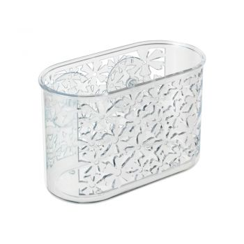 Organizator transparent suspendat Wenko Flowers