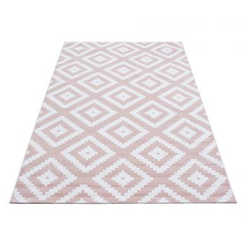 Covor Plus Diamond Pink 160x230 cm