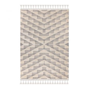 Covor Flair Rugs Hampton, 80 x 150 cm, gri - crem