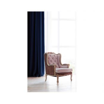 Draperie Pierre Dark Blue 140x270 cm