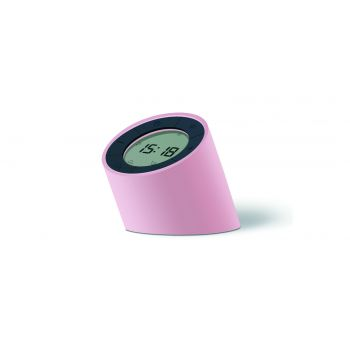 Ceas inteligent Edge Light Alarm Clock Pink