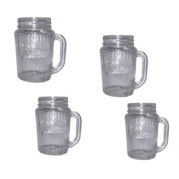 Set 4 cani Vintage 400 ml