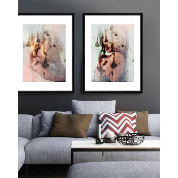 Tablou 2 piese Framed Art Blond Passion