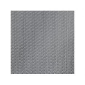 Folie antialunecare Bruce Circle Grey 50x150 cm