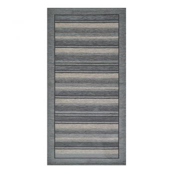 Traversă Floorita Velour, 55 x 240 cm, gri