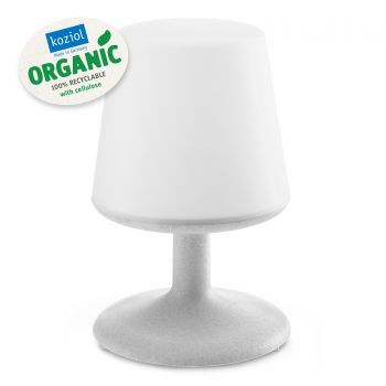 Lampa de veghe cu port USB, Light To Go Gri, Ø18xH28 cm