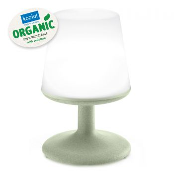 Lampa de veghe cu port USB, Light To Go Verde, Ø18xH28 cm