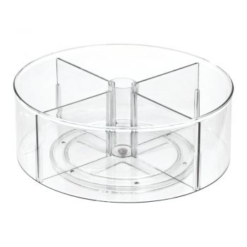Cutie rotundă de depozitare iDesign The Home Edit, ⌀ 31 cm