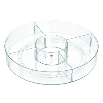 Cutie rotundă de depozitare iDesign The Home Edit, ⌀ 45,7 cm