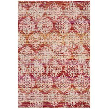 Covor Oriental & Clasic Madeline, Roz/Multicolor, 122x183