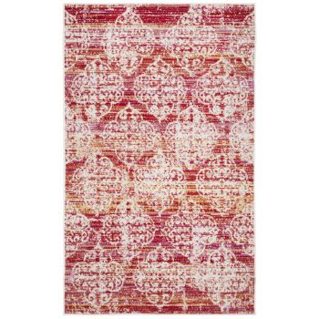 Covor Oriental & Clasic Madeline, Roz/Multicolor, 91x152
