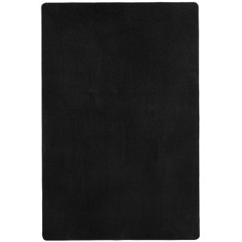 Covor Unicolor Fancy, Negru, 133x195
