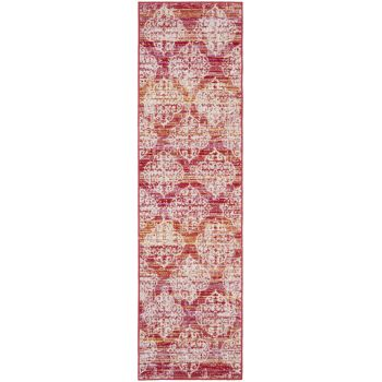 Covor Oriental & Clasic Madeline, Roz/Multicolor, 69x244
