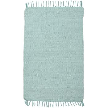 Covor Unicolor Happy Cotton, Verde, 60x120 cm