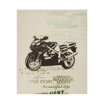 Tablou Madison Motorcycle 50x60 cm - Eurofirany, Maro